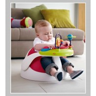 Mamas & Papas Baby Snug & Activity Tray in Red