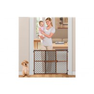Summer Infant Secure Pressure Mount Wood & Plastic Deco Gate
