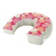 Fisher Price Perfect Position 4-in-1 Nursing Pillow Cover - Pink Hibiscus