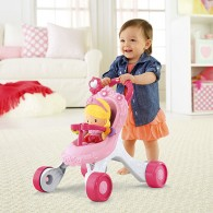 Fisher Price Princess Mommy Stroll-Along Musical Walker