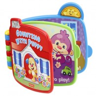Fisher Price Laugh & Learn Counting With Puppy Book