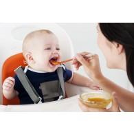Boon SWAP 2-IN-1 Feeding Spoon in Blue & Orange