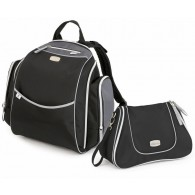 Chicco Urban Backpack Diaper Bag in Black