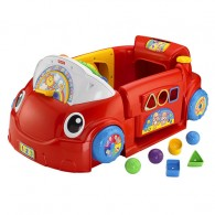 Fisher Price Laugh & Learn Smart Stages Crawl Around Car in Red