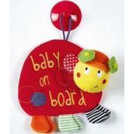 Mamas & Papas Babyplay Baby on Board  Ladybird