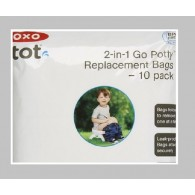 OXO Tot Go Potty Replacement Bags 10 Pack