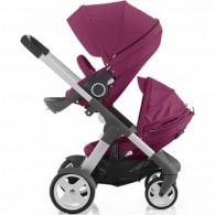 Stokke Crusi Double Stroller - Purple