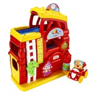Fisher Price Laugh & Learn Monkey's Smart Stages Firehouse