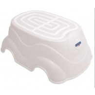 Peg Perego Herbie Step-Up Stool in White