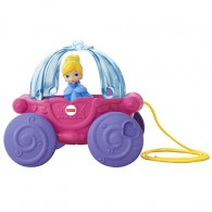 Fisher Price DISNEY PRINCESS Musical Carriage Pull Toy from Fisher-Price