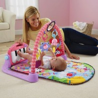 Fisher Price Kick & Play Piano Gym Pink