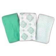 Summer Infant SwaddleMe® Muslin Blankets 3-PK