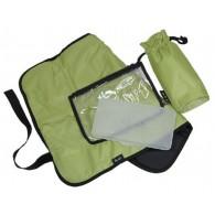 OiOi Dot with Lime Interior Hobo Diaper Bag