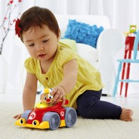 Fisher Price Laugh & Learn® Puppy's Press 'n Go Car