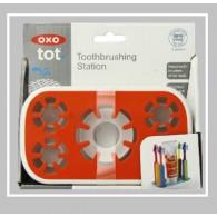 OXO Tot Toothbrushing Station in Orange