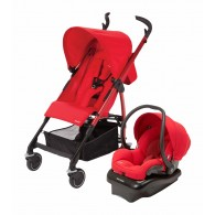 Maxi Cosi Kaia and Mico AP Travel System in Red