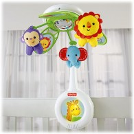Fisher Price Rainforest Friends Musical Mobile