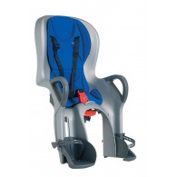 Peg Perego 10+ Rear Mount Child Seat in Silver/Blue