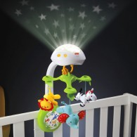 Fisher Price 3-in-1 Deluxe Projection Mobile Rainforest Friends