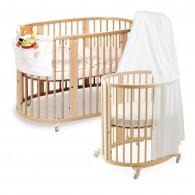 Stokke Sleepi System 1 Bassinet and Crib Set in Natural