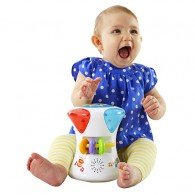 Fisher Price Bright Beats 2-in-1 Musical Drum Roll
