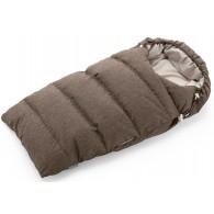 Stokke Down Sleeping Bag in Nougat Melange