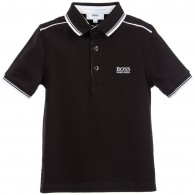BOSS Boys Cotton Pique Polo Shirt