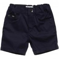 BOSS Boys Navy Blue Shorts