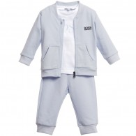 BOSS Boys 3 Piece Tracksuit Gift Set