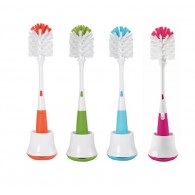 OXO Tot Bottle Brush with Nipple Cleaner & Stand 3 COLORS
