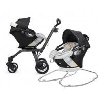 Orbit Baby G3 Infant Car Seat & Base - Ruby/Khaki