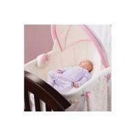 Summer Infant Classic Comfort Wood Bassinet (Bedtime Blossom)