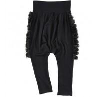 JUNIOR GAULTIER Stretch jersey trousers - Black