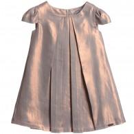 JUNIOR GAULTIER Gold Metallic Sheen Dress