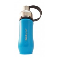 Thinkbaby Thinksport Insulated Sports Bottle - 12oz (350ml) - Light Blue