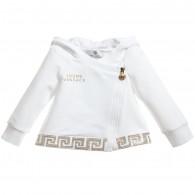 YOUNG VERSACE Baby Girls Jersey Lightweight Jacket