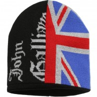 JOHN GALLIANO Baby Union Jack Wool Hat
