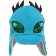 JOHN GALLIANO Boys Turquoise Wool Alien Hat
