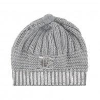 JOHN GALLIANO KIDS Wool and acrylic knit hat