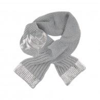 JOHN GALLIANO KIDS Loose stitch knit scarf