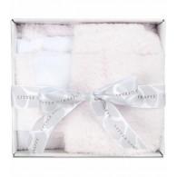 Little Giraffe Splash & Dry Chenille Towel & Washcloth Set