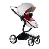 Mima Xari Stroller Snow White/Ruby Red