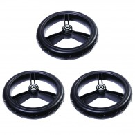 """Mountain Buggy  12"""" Aerotech Front Wheet Set  UJ/Terrain/+One (left, right, front)"""
