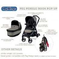 Peg Perego Book Pop Up Stroller 4 COLORS
