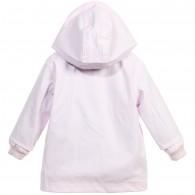 PETIT BATEAU Baby Girls Pale Pink Raincoat