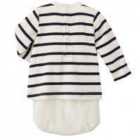 PETIT BATEAU Cotton jersey T-shirt bodysuit