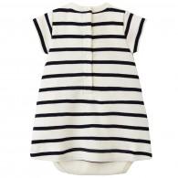 PETIT BATEAU Cotton jersey dress bodysuit