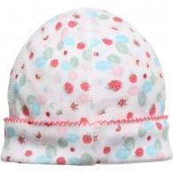 PETIT BATEAU Baby Girls Strawberry Print Hat