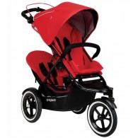 Phil & Teds Sport Double Stroller - Cherry