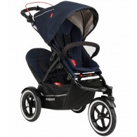Phil & Teds Sport Double Stroller - Midnight